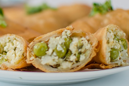 Cheese Samosas